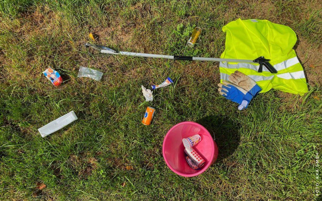 KKA GmbH unterstützt die Anschaffung von Müllgreifern mit 300 €